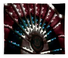 Carnival Lights Fleece Blanket