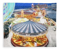 Carousel Waltz Fleece Blanket