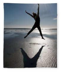 Carpe Diem Fleece Blanket