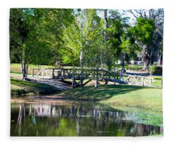 Carpenters Park 3 Fleece Blanket