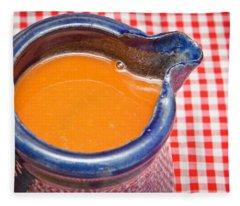 Carrot Juice Fleece Blanket