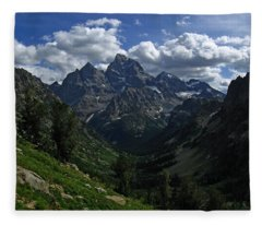 Cascade Canyon North Fork Fleece Blanket