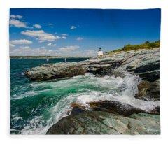 Castle Hill Lighthouse Fleece Blanket