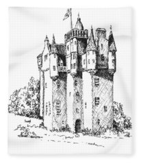 Castle Fleece Blanket
