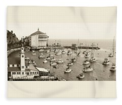 Catalina Island. Avalon Fleece Blanket