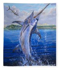 Catalina Sword Off0045 Fleece Blanket