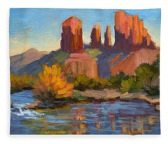 Cathedral Rock 2 Fleece Blanket