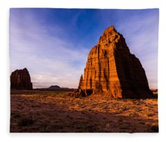 Cathedral Temples Fleece Blanket