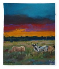 Cattle's Cadence Fleece Blanket