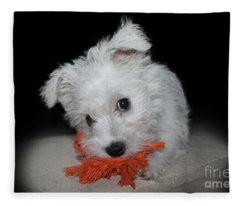 Caught In The Act Fleece Blanket