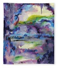 Cave Painting Fleece Blanket