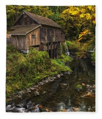 Cedar Creek Grist Mill 2 Fleece Blanket