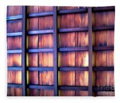 Ceiling At The Japanese House Philadelphia Usa Fleece Blanket