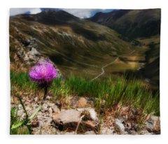 Centaurea Fleece Blanket