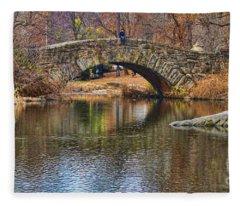 Central Park II Fleece Blanket