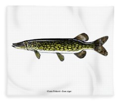 Chain Pickerel Fleece Blanket