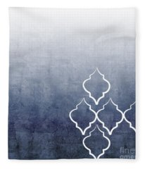 Chambray Ombre Fleece Blanket