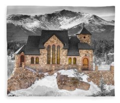Chapel On The Rock Bwsc Fleece Blanket