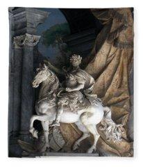 Charlemagne  Fleece Blanket