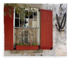 Charleston French Quarter II Fleece Blanket