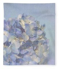 Charming Blue Fleece Blanket