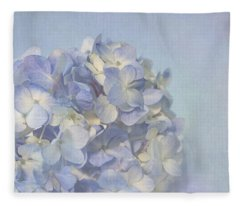 Charming Blue Fleece Blanket