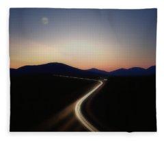 Chasing The Light Fleece Blanket