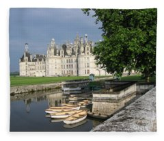 Chateau Chambord Boating Fleece Blanket