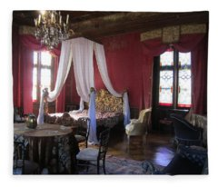 Chateau De Cormatin Fleece Blanket