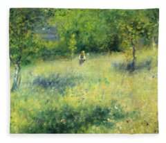 Chatou After Renoir Fleece Blanket