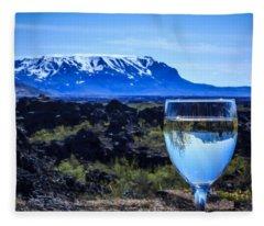 Cheers To Iceland Fleece Blanket