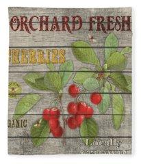 Cherries-jp2675 Fleece Blanket