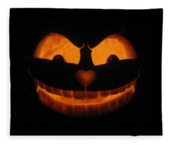 Cheshire Cat Fleece Blanket