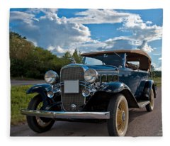 Chevrolet Confederate Ba Phaeton 1932 Fleece Blanket