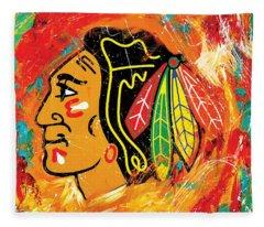 Hockey Fleece Blankets