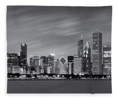 Illinois State Photographs Fleece Blankets