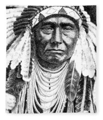 Chief-joseph Fleece Blanket