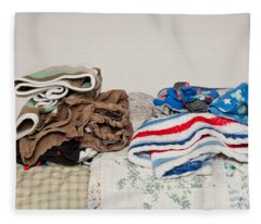 Child's Clothes Fleece Blanket