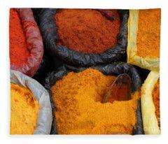 Chilli Powders 2 Fleece Blanket