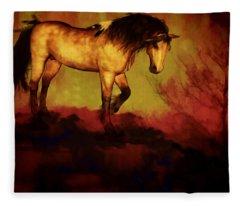 Choctaw Ridge Fleece Blanket