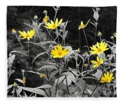 Chokeweeds Sc Fleece Blanket
