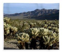 Cholla Garden Fleece Blanket