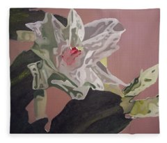 Christmas Bloom Fleece Blanket