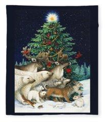 Christmas Parade Fleece Blanket