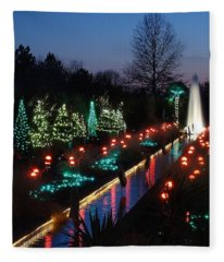 Christmas Reflections Fleece Blanket