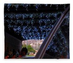 Christmas Road Decoration Fleece Blanket