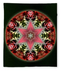Christmas Star Fleece Blanket