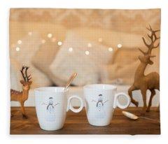 Christmas Teabreak Fleece Blanket
