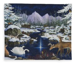 Christmas Wonder Fleece Blanket