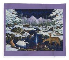 Christmas Wonder Fleece Blanket